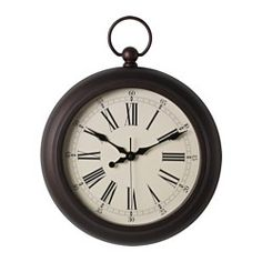 IKEA JULLA wall clock Silent clock, the pointers move without a sound.