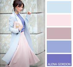 Cool Summer Analogous This color combo is clean. Colour Combinations Fashion, Color Combinations For Clothes, Fashion Colours, Colorful Fashion, Colour Pallete, Colour Schemes, Color Trends, Color Combos, Color Harmony