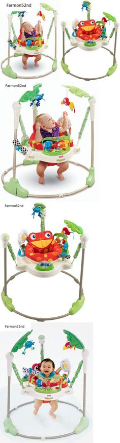 Baby Jumping Exercisers 117032: New Fisher Price Rainforest Jumperoo Baby Jumper Walker Bouncer Activity Seat -> BUY IT NOW ONLY: $167.79 on eBay!