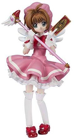 """Bandai Tamashii Nations S.H. Figuarts Kinomoto Sakura """"Cardcaptor Sakura"""" Action Figure Bandai http://www.amazon.com/dp/B00OZ5J2LY/ref=cm_sw_r_pi_dp_vdgWub0DTWNF5"""