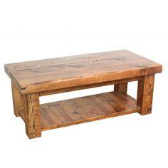 English Beam Reclaimed Wood Coffee Table