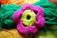 Rosa en Crochet