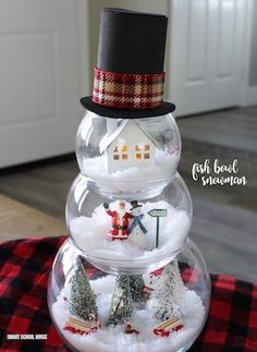 Whimsy Wednesday- DIY Snowmen Mugs