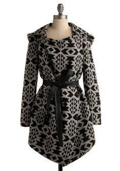 2ee81a1e1d53 Artist statement coat by Mod Cloth.