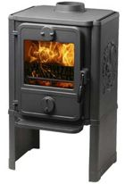 Morsø 1440 is a convection stove which is available with squirrel relief on the side panels.    For small rooms  The convection principle means that the stove quickly circulates warm air throughout the room. The size of this stove makes it the ideal choice for small heating needs, small homes, holiday homes etc.