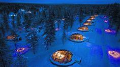 Kakslauttanen Arctic Resort, Saariselkä, Finland
