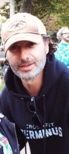 Andrew Lincoln, aka Rick Grimes of TWD