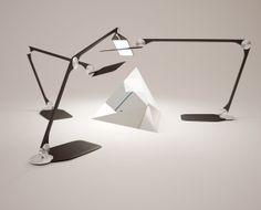 desk lamp on Behance