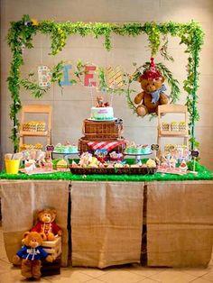 Teddy Bear Picnic Birthday Party on Kara's Party Ideas | KarasPartyIdeas.com (10)