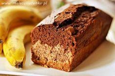 ciasto z bananami dwukolorowe 1 szkl. mąki ryżowej 1 szkl. mąki kukurydzianej