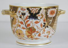 Crown Derby Imari Ice Pail (England) ca.1806-1825.