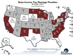 Does your state have a marriage tax?