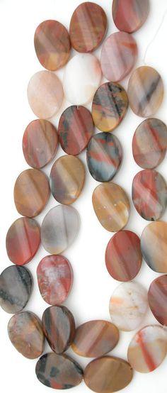 Natural Gemstone. Handcrafted USA Arizona Petrified Rainbow Wood Cabochon