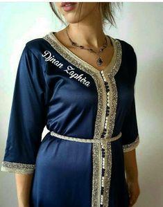 Moroccan Caftan, Islamic Fashion, Traditional Dresses, Hijab Fashion, Kurti, Lingerie, Shirt Dress, Womens Fashion, Outfits