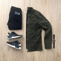 WEBSTA @ mrjunho3 - Olive green has really grown on me lately. It's a color that represents balance and harmony. What do you think about this outfit? Let me know in the comments below with emojis!Jacket: Thank you @forever21men! #sponsoredShirt: @uniqloJeans: @uniqloShoes: @adidas NMDWatch: @danielwellingtonWallet: @ferragamo••••••#menstyle #wiwt #mensfashion #gq #uniqlo #forever21 #adidas #nmd #adidasnmd #adidasoriginals #danielwellington #ferragamo #streetstyle