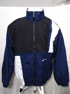 6c454a567 Vintage Nike Men Windbreaker Mens Size Large Vtg 90 S