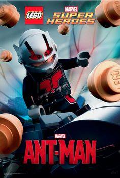 Celebrating LEGO Ant-Man #Marvel #AntMan #LEGO