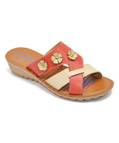 071974094498 A scalloped sole lends a cloud-like lift to these charming sandals topped  with studded