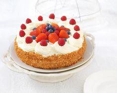 Luxe slagroomtaart met fruit recept | Dr.Oetker