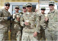 Send a $2 cup of coffee to our troops in far away places, and get ready for the e-mails thanking you for such a simple gift and for your thoughtfulness. They love knowing that we have not forgotten about them. http://www.greenbeanscoffee.com/pages/cup-of-joe