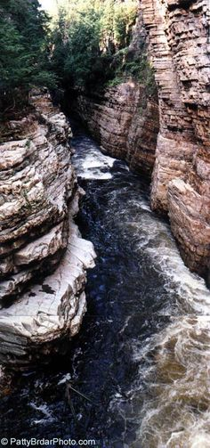 Photos of New York Upstate Ausable Chasm Ausable River Adirondack State Park Forest Foliage