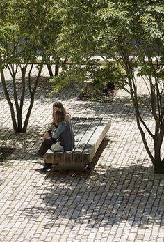 Oxford Brookes University - A step change in campus design - Landscape And Urbanism, Landscape Plans, Urban Landscape, Small Garden Landscape Design, Oxford Brookes University, Public Realm, Urban Park, Parking Design, Parcs