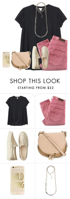 """late start tomarrow!!"" by ava-lindsey ❤ liked on Polyvore featuring Monki, Nobody Denim, American Eagle Outfitters, Chloé, Delphine-Charlotte Parmentier, women's clothing, women, female, woman and misses"