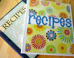 Replace that overflowing recipe box with a neat and tidy recipe binder