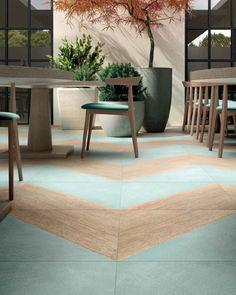 [ Younhyun Tile / 윤현상재 타일 ] Triagle Tile : Blend Ice / Size (cm) : 60X60