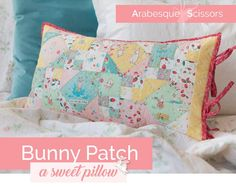 Threadbare Creations: Bunny Patch by Ali Phillips + A GIVEAWAY For You