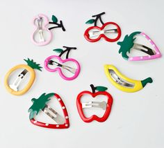 Fruit hairpin Baby simple Barrettes Infant Decoration Girl Hair Accessory kids hair clip accessories #>=#>=#>=#>=#> Click on the pin to check out discount price, color, size, shipping, etc. Save and like it!