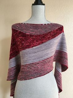 Zorzal by Lisa Hannes, knitted by Purlificknitter | malabrigo Mechita in Pearl and Granada