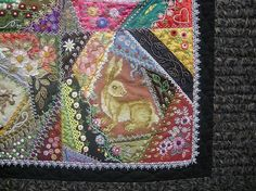 """Allie's in Stitches: Gerlinde Hruzek's """"All Creatures Large and Small"""""""