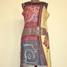 "DESIGUAL DRESS❤️ ❤️DESIGUAL DRESS Dimensions are 15""1/2 BUST, 38"" Long. Made of 97% Polyester 3% Elastane Size XL❤️ Desigual Dresses Midi"