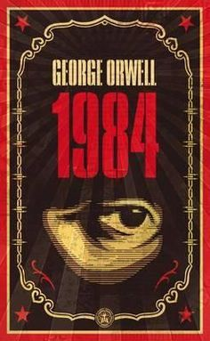 Nineteen Eighty-four : George Orwell : 9780141036144 Book Club Books, Books To Read, My Books, Teen Books, Nineteen Eighty Four, Best Book Covers, Henry Miller, Science Fiction Books, Fiction Novels