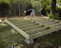 #shed #backyardshed #shedplans Garden Shed Foundation | Outdoor Shed Foundation : Best Investment Through Shed Plans