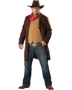 FAKE STICK ON BLONDE COWBOY WILD WEST WESTERN TASH Mens Fancy Dress