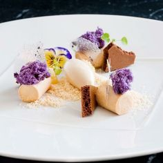 Violet, Caramel And Liqourice