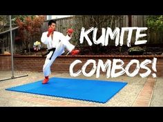 KARATE PRACTICE 002: Kumite Combos & Strategies (by Jason Leung) - YouTube