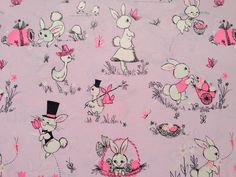 Vintage easter gift wrap honey bunnies wrap it up vintage vintage easter gift wrap honey bunnies wrap it up vintage pinterest vintage easter wrapping papers and easter negle