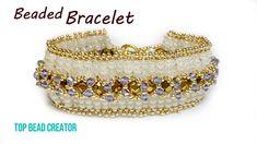 Bow tie bracelet, How to make beaded bracelet Making Bracelets With Beads, Seed Bead Bracelets, Bracelet Making, Beaded Jewelry Patterns, Bracelet Patterns, Bow Bracelet, Bohemian Bracelets, Bracelet Tutorial, Beaded Jewelry