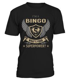 Bingo Superpower Job Title T-Shirt #Bingo