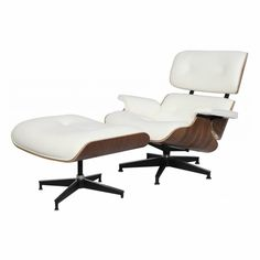 A definite choice for soothing comfort and relaxation this Plywood Lounge Chair and Ottoman reproduction is an artistic piece of work.