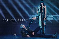 Lucky Blue Smith Fronts Philipp Plein Fall/Winter 2015 Campaign