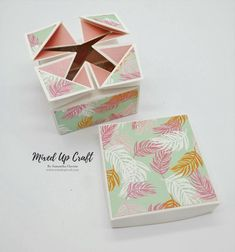 Napkin fold gift box Box Patterns, Napkin Folding, Treat Holder, Unusual Gifts, Hello Everyone, Craft Tutorials, Diy Gifts, Napkins, Projects To Try
