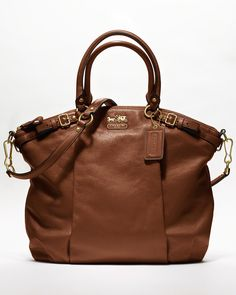 COACH Madison Leather Lindsey Satchel - madison handbags - HANDBAGS - COACH - Bloomingdale's