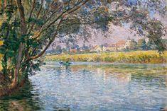 Rive de la rivière Marne, près de Montevrain, c.1900, Lebasque (956 × 640) LD (nhra)