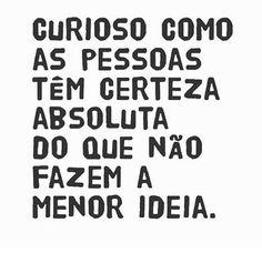 #curioso #pessoas