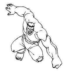 Incredible Hulk Coloring Pages Printable Freecoloring Org