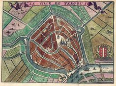 La ville de Tergou van Harrewijn (Gouda)